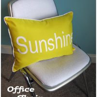 Office Chair Makeover