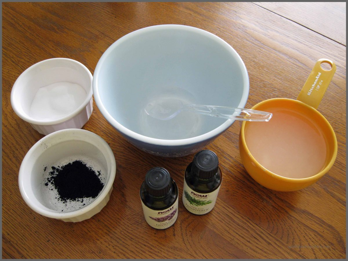DIY Homemade Charcoal Facial Cleanser