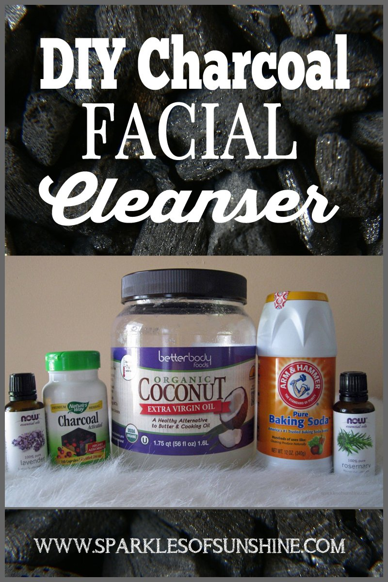 Make your own facial cleanser