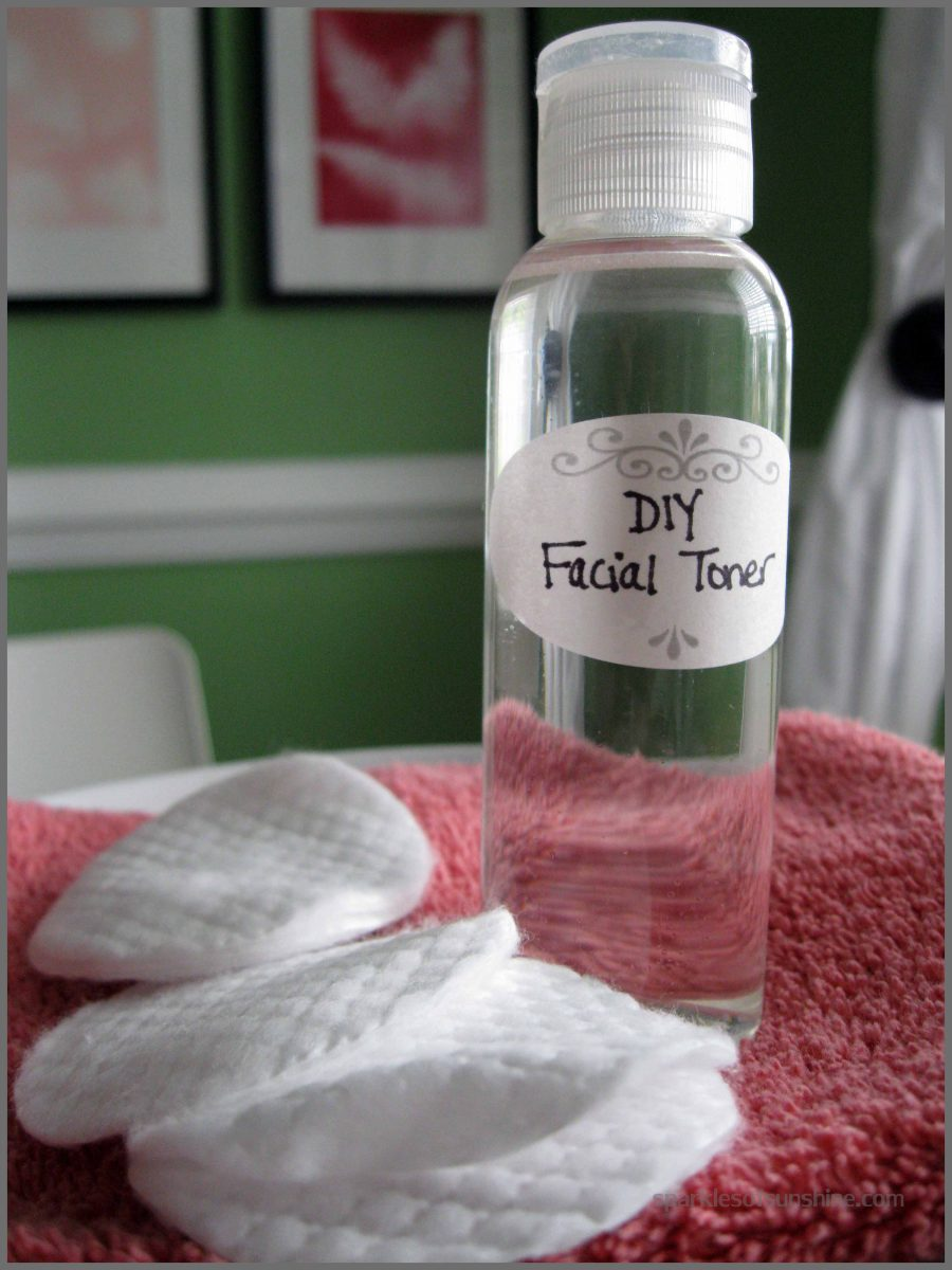 DIY Tea Tree Facial Toner
