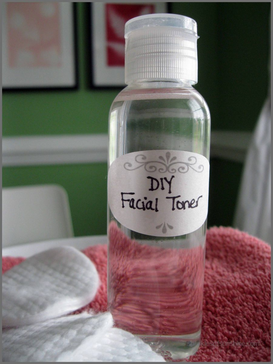 DIY Toner Tea Tree Lavender