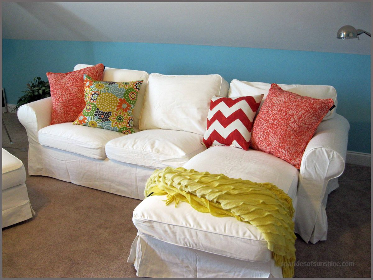 Love My White Ikea Furniture Slipcovers