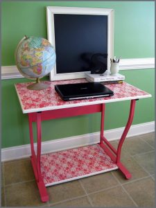 desk makeover redo
