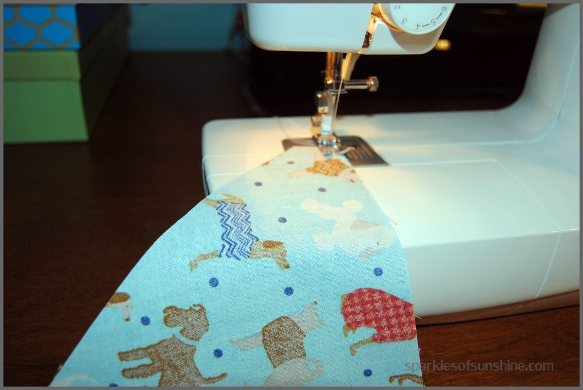 How to make a reversible slip over the collar dog bandana sewing dog bandana jeuxipadfo Gallery