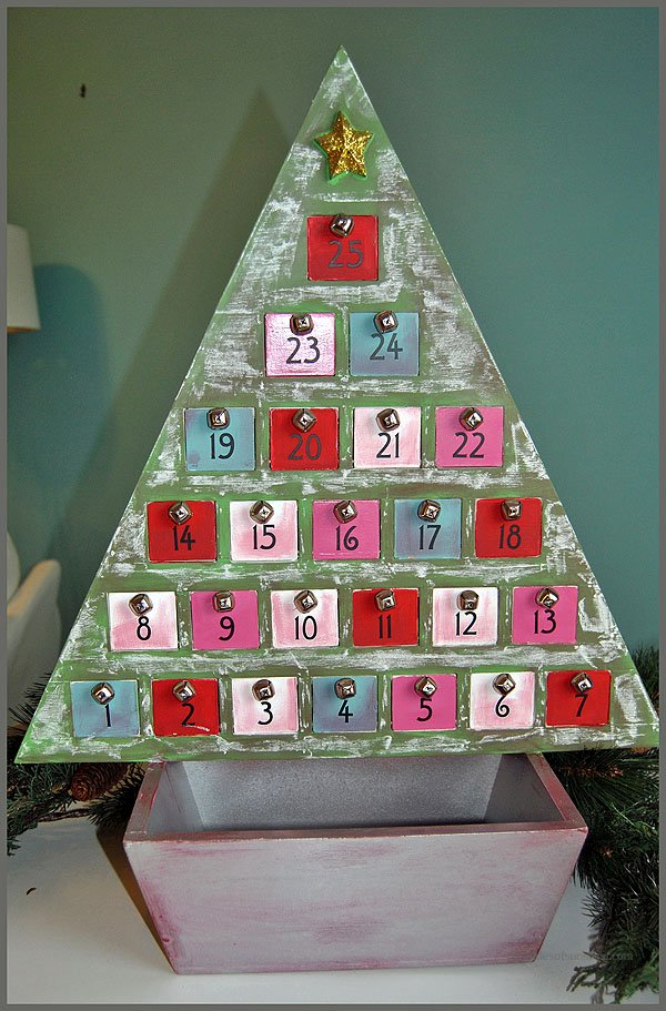 Advent Calendar Makeover DIY