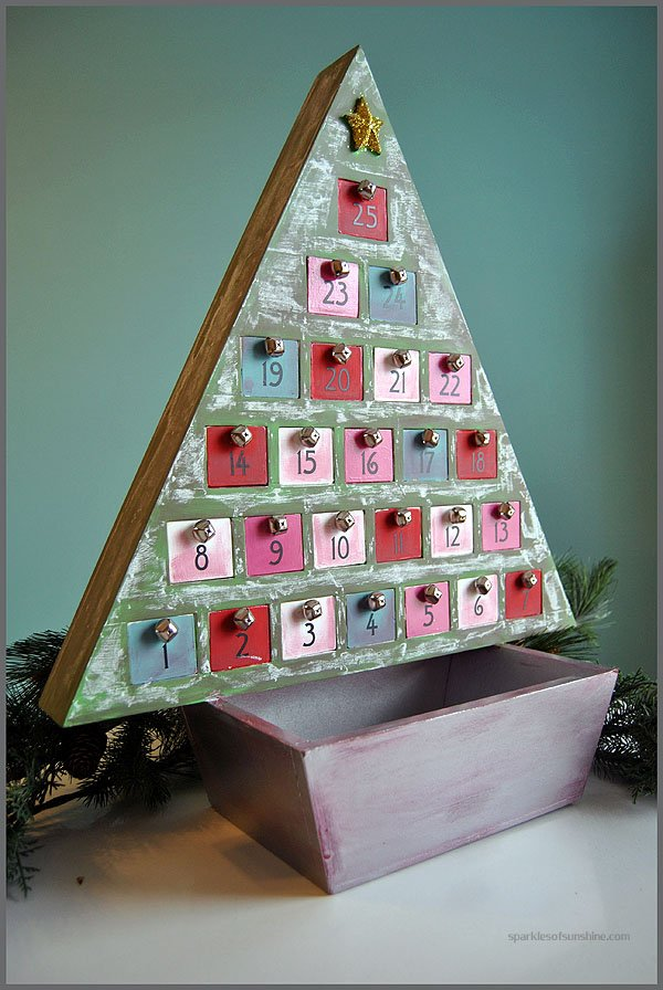 DIY Advent Calendar Makeover