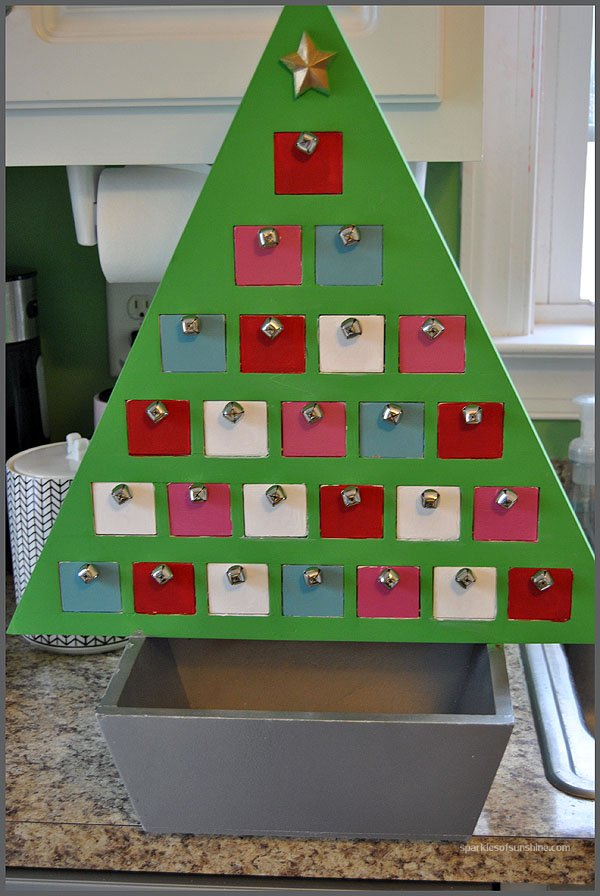 Makeover for Advent Calendar