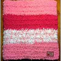 Softest Crocheted Baby Blanket Ever
