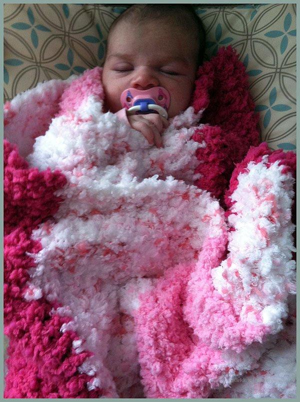 The Softest Baby Blanket Youll Ever Crochet Sparkles Of Sunshine