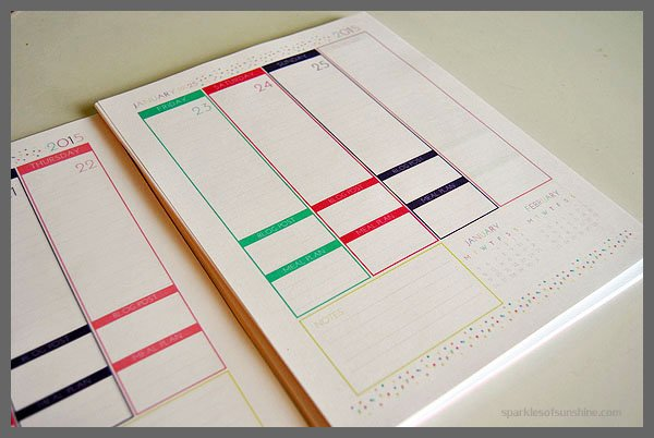 photograph relating to Diy Daily Planner named Crank out Your Private Everyday Planner - Flickers of Solar
