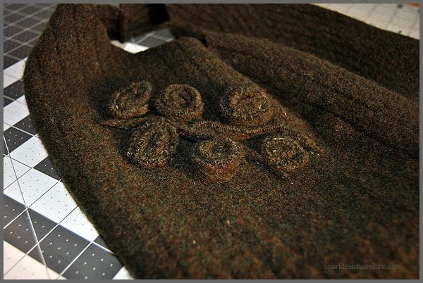 Felted Sweater Wool Handbag from Sparkles of Sunshine