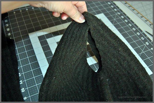 Felted Wool Sweater Handbag DIY from Sparkles of Sunshine