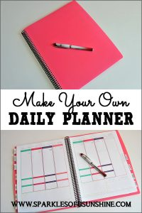 Have trouble finding the perfect planner? Learn how easy it is to customize when you make your own!