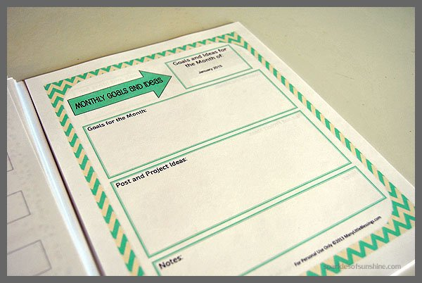 Charming Make Your Own Weekly Planner Gallery
