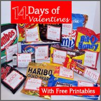 14 Days of Valentines from Sparkles of Sunshine