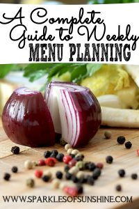 Learn how easy it is to be prepared with this complete guide to weekly menu planning, along with a free printable!
