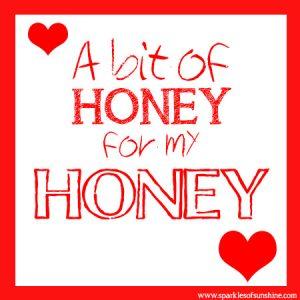 Bit O Honey Valentine Sparkles of Sunshine