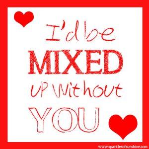 Chex Mix Valentine Sparkles of Sunshine