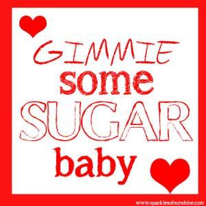 Sugar Babies Valentine Sparkles of Sunshine