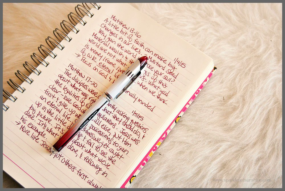 Tips to Developing a Daily Bible Reading Routine - Sparkles