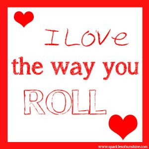 Tootsie Roll Valentine Sparkles of Sunshine