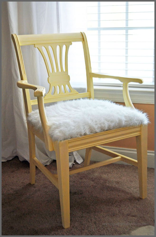 Antique Chair Revival - Sparkles of Sunshine