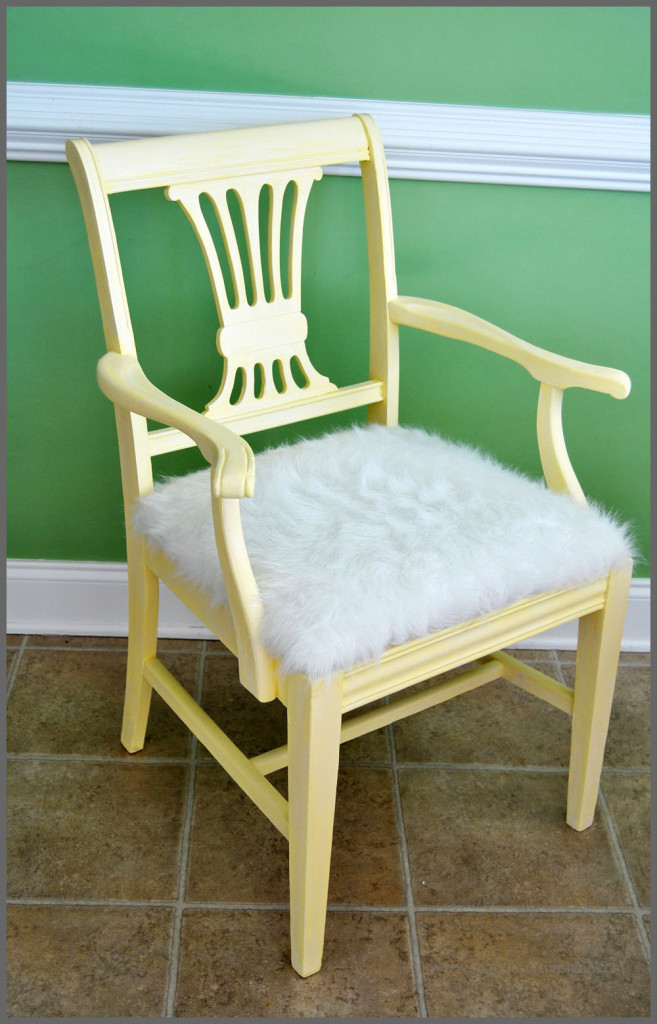 Antique Chair Revival Sparkles of Sunshine