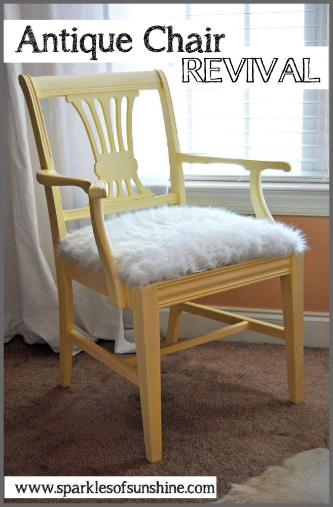 Antique Chair Revival from Sparkles of Sunshine