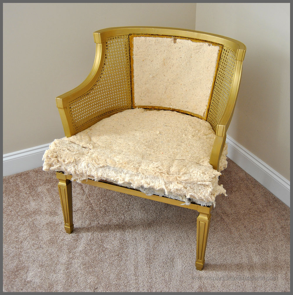 sparkles of chair goes glam