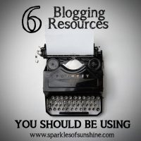 The 6 blogging resources you should be using to help manage and grow your blog. Take your blog to the next level with these great tools!