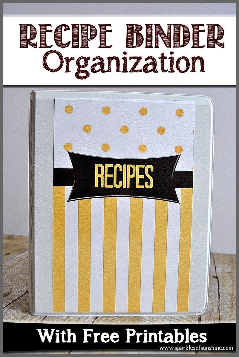 picture about Free Printable Recipe Binder identify Recipe Binder Small business With Absolutely free Printables - Flickers
