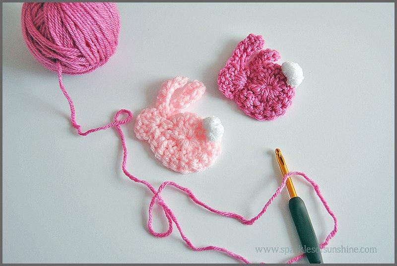 Simple Quick Bunny Crochet Pattern Sparkles Of Sunshine