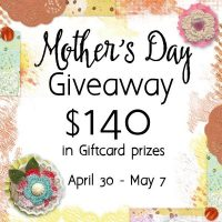 Enter to win $140 in gift cards, just in time for Mother's Day!