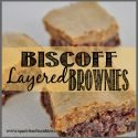 Biscoff Layered Brownies