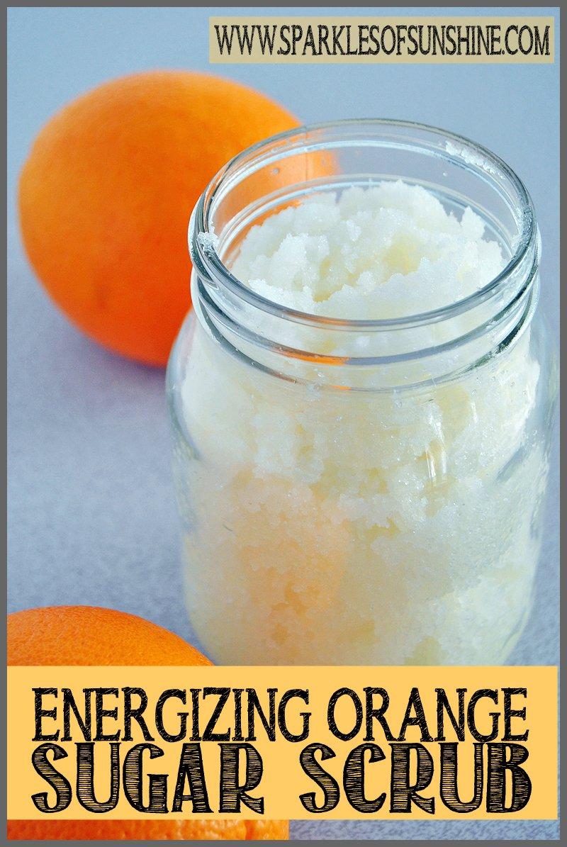 Energizing Orange Sugar Scrub Sparkles Of Sunshine Aromatherapy Lavender Vanilla Check Out This Recipe At Keep Your Skin