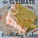 Check out this recipe for the Ultimate Birthday Cake shared at Sparkles of Sunshine.