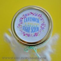 Lavender Lemon Mint Sugar Scrub
