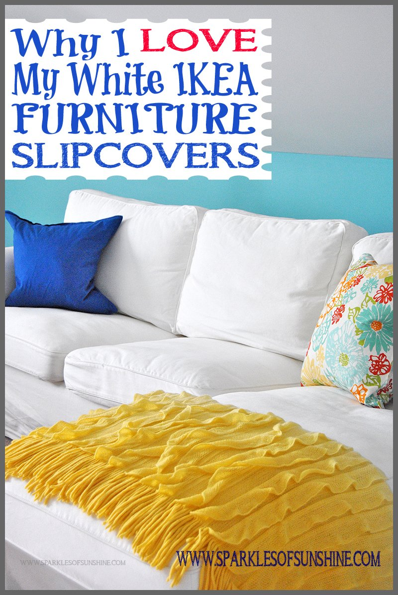 cover my furniture. Over Nine Months Later, Find Out Why I LOVE My IKEA White Furniture Slipcovers! Cover