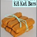 Homemade Butterscotch Kit Kat Bars