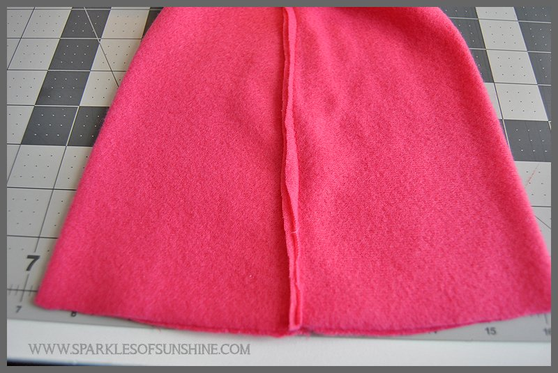 Pink Ribbon Projects Easy Sew Fleece Chemo Cap Sparkles Of Sunshine
