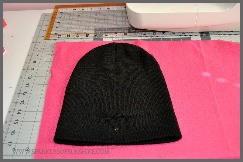 Pink Ribbon Projects Easy Sew Fleece Chemo Cap
