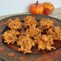 Fall Candy Corn Haystacks Recipe