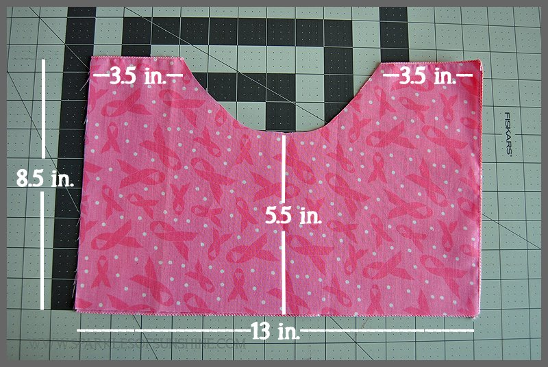 Pink Ribbon Projects Mastectomy Comfort Pillow
