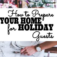 Do you want to provide your overnight holiday guests with a comfortable stay this year, but you're not sure where to start? Check out these tips to help you get your home prepared for overnight holiday guests this year!