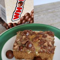 These malted milk brownies will melt in your mouth! Get the recipe today from Sparkles of Sunshine.