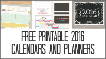Free Printable Planners Popular Posts