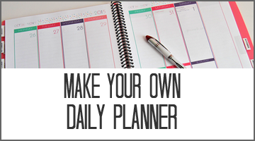 Make Your Own Planner Popular Posts