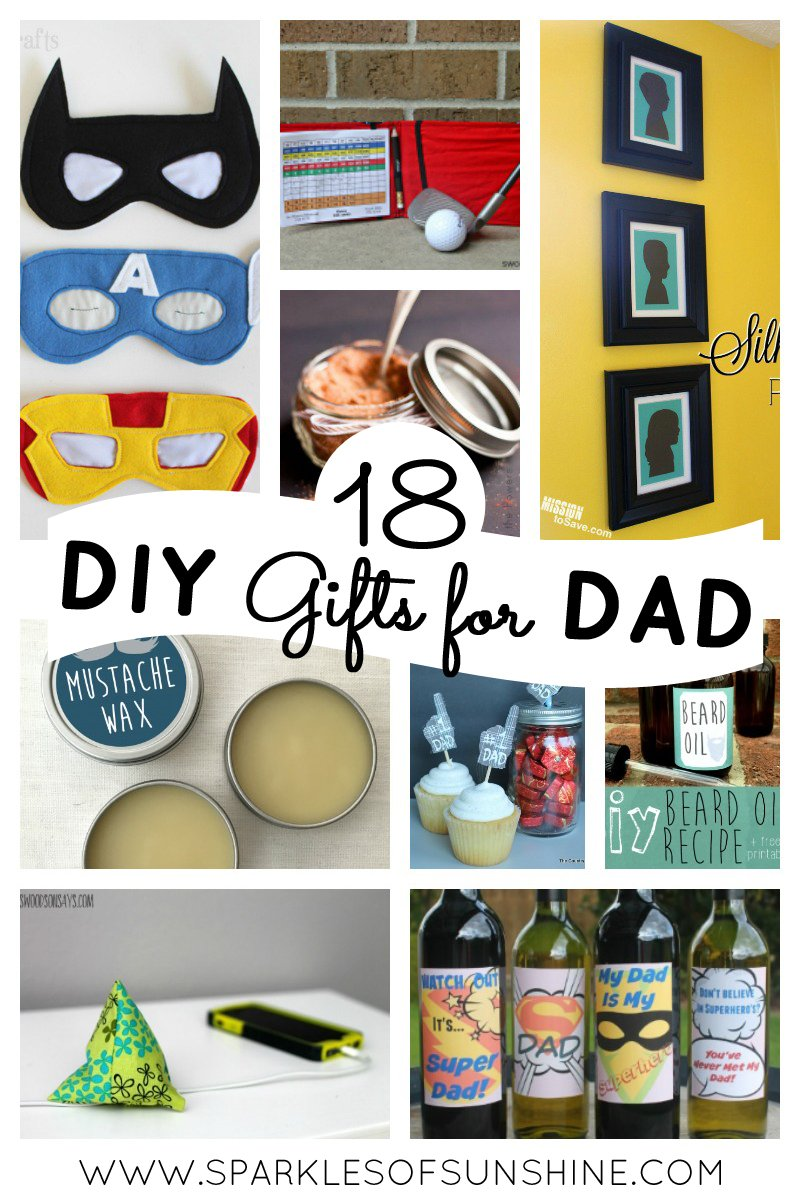 Save your money and make a gift for Father's Day this year. Check out these