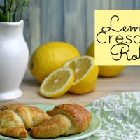 These lemon crescent rolls bring together the delicious flavors of lemon and cream cheese wrapped up in the goodness of a crescent roll. Try them today to create a new family fave!