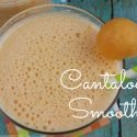 Cantaloupe Smoothie Easy Recipe